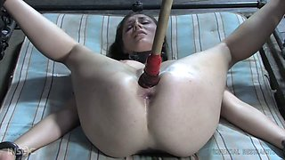 This slave knows that she only exists to sexually satisfy her bondage master