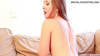 Brutal-FaceSitting Video: Scarlett