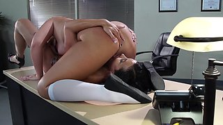 Schoolgirl Jenna Ashley fucking teacher Jewels Jade