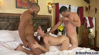 Lily Glee And Dillon Diaz - Convinces Her Husband To Have A Bisexual Triplet With