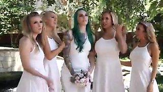 Bridal Party Orgy XXX