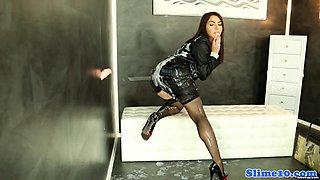 Valentina Nappi squirted in jizz