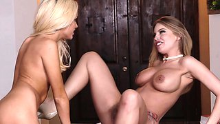 Dyked-  Hot Lesbian Boss Scissors Hot Teen