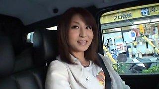Crazy Japanese girl Saya Mizuki in Fabulous POV, Car JAV scene