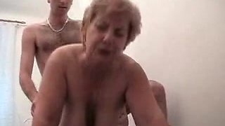 Russian Granny And Boy 142