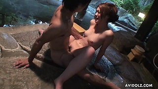 Saori Ono might seem timid but not her and that Asian babe is a good fuck