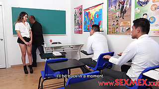 Sexmex Coco Duarte New Girl In School