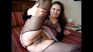 ama upskirt in pantyhose very short