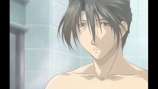 Hentai bathtub romantic first time sex from a cute couple