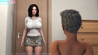 BIG TITS 3D MILF FUCKED BY BIG DICKED OLD MAN