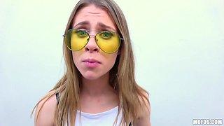 Anya Olsen in Blonde Rides Dick In Public Park - PublicPickups