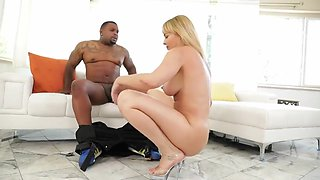 Rico Strong And Dana Dearmond In Busty Blonde Milf Dana Takes A Rough Anal Pounding From A Massive B B C