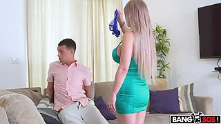 Casca Akashova Teaches Step Son a Lesson
