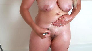 Shave My Hairy Pussy In The Shower