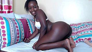 Cute African camgirl