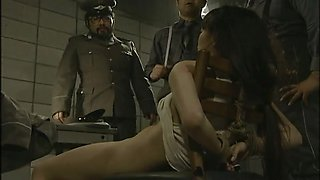 Slim Japanese cutie gets her hairy pussy properly fucked