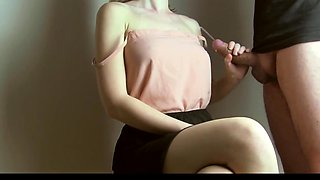 Hottest homemade Handjobs, Close-up sex movie