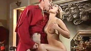 Retro vintage classic frensh big tits anal