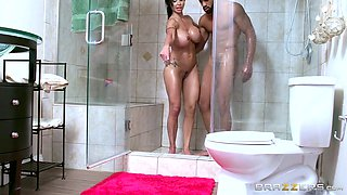 Jewels Jade & Stallion in A Dirty Shower - Brazzers