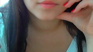 Teen chick nice tease on videochat