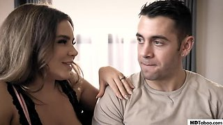 PureTaboo: Busty wife Natasha Nice gets fucked by a college student and her husband on PornHD
