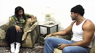 A Hot Brazilian Couple Fucks Anally