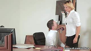 Anna Polina in My Horrible Boss - OfficeObsession