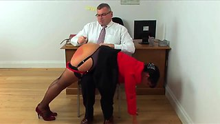 Miss Mouse Office Corrections With Leia-ann Woods And Jadie Reece