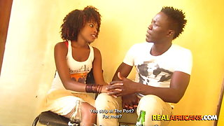 Black Couple, Sex Tape In Public Toilet