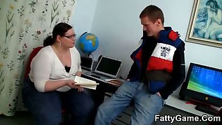 Sex with a slutty fat teacher