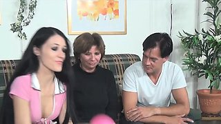 German slut Meli is around again. She gets her big fake