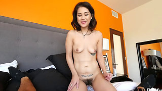 Step Sister Fuck Her Hairy Pussy Goodbye