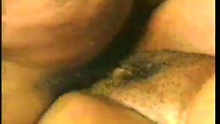 Bent over the sofa big racked black nympho gets hammered doggy