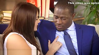 First Interracial For Beauty Adria Rae
