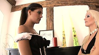 Her mistress's husband is pissed at his wife and neglects