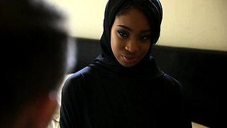 TeenPies - Ebony Hijab Teen Blow Job