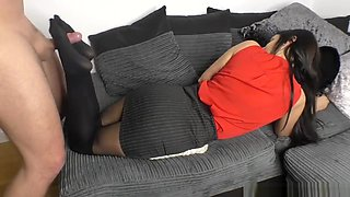 Secretary Boss Gives You A Pantyhose Footjob - Cassie Clarke