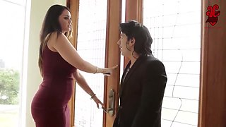 Lucky Mexican Gigolo Named Panfilo Gets To Fuck The Big Titted Alison Tyler