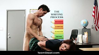 InnocentHigh Young innocent brunette student tempted to