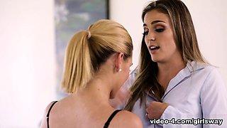 Abby Cross & Ryan Ryans in Secretary Day - GirlsWay