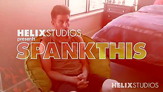 Nicholas Leoni is called back for a second hard spank from