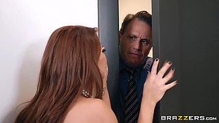 Madison Ivy cheats with the big cocked butler